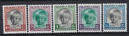 Luxembourg  -  Timbres 1931 SATZ MNH 2 étoiles  Princesse Alix  KW 100 - Blocs & Hojas