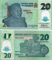 NIGERIA   ПОЛИМЕР 20 НАЙРА 2018 UNC - Nigeria