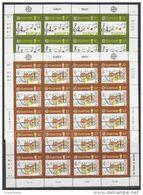 Europa Cept 1985 Guernsey 2v 2 Sheetlets ** Mnh (F8402) - Europa-CEPT
