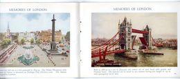 Livret : London Festival Of Britain Souvenir. Memories Of London, A Picture Souvenir Of The World's Greatest City. - Esplorazioni/Viaggi