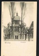 CPA GENEVE - Synagogue - Edit A La Dégringolade Grand Bazar Genève-   Scans Recto Verso- Paypal Free - GE Genf