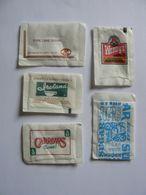 Déstockage, USA, 5 Sachets De Sucre Vides, TB. - Sugars