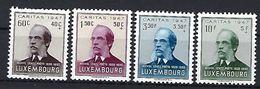 Luxembourg  -  Timbres 1945 Caritas MICHEL LENTZ Postfrisch  MNH 2 étoiles  KW 20 - Blocks & Sheetlets & Panes