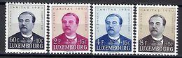 Luxembourg  -  Timbres 1950 Caritas J.A.ZINNEN Postfrisch  MNH 2 étoiles  KW 40 - Blocks & Sheetlets & Panes