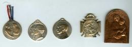 LOT De 5 Médailles Commémoratives Guerre 1914 / 1918. A VOIR. - 1914-18