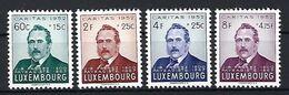 Luxembourg  -  Timbres 1952 Caritas  J.B.FRESEZ Postfrisch  MNH 2 étoiles  KW 450 - Blocks & Sheetlets & Panes