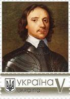 Ukraine 2020, World Great Warriors, Oliver Cromwell, 1v - Ukraine