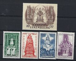 Luxembourg  -  Timbres 1945 VIERGE MARIA   Postfrisch  MNH 2 étoiles  KW 20 - Blocs & Hojas