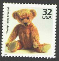 "USA 1998 MiNr. 2917 Celebrate The Century ""Teddy"" Bear Created Toys Childhood 1v MNH ** 0,80 € - Puppen"