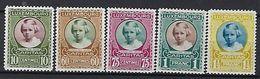Luxembourg  -  Timbres 1928 Caritas Prinzessin Marie Adelheid Satz   Postfrisch  MNH 2 étoiles  KW 17,50 - Blocks & Sheetlets & Panes