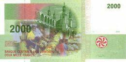 COMOROS P. 17a 2000 F 2005 UNC - Comore