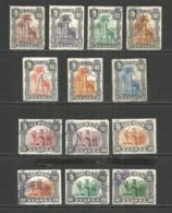 Nyassa 1901 Year Mint/used Stamps Set - Nyassa