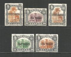 Nyassa 1903 Year Mint/used Stamps Set - Nyassa
