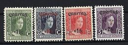Luxembourg  -  Timbres 1924 Caritas Adelheid  Série  Satz   Postfrisch  MNH 2 étoiles  KW 7,50 - Blocks & Sheetlets & Panes