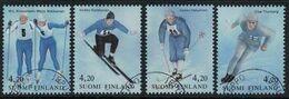1994 Finland, Winter Sports Complete Set Used. - Gebraucht