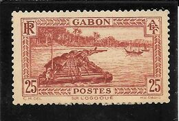 GABON N°132 OB TB SANS DEFAUTS - Usati