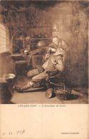 A-20-1157 : MUSEE D'AMIENS. L'ARRACHEUR DE DENTS PAR GERARD DOW. DENTISTE. DENTISTERIE. - Health