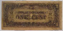 Japanese Occupation: 1/2 / Half Gulden ND (WPM 122b) - Nederlands-Indië