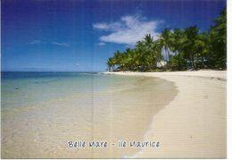 Belle Mare Beach , Exotic Beach With White Sand & Nice Lagoon,  Carte Postale Neuve Non Circulée - Mauritius