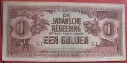 Japanese Occupation: 1 / Een Gulden ND (WPM 123c) - Nederlands-Indië