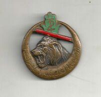 2ème Régiment De Tirailleurs Algériens  (Modèle De 1939) - Landmacht