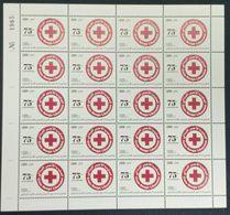 Lebanon 2020 New MNH Stamp - 75th Anniv Of Lebanese Red Cross & Coronavirus Covid-19 Crisis - FULL SHEET - Libanon