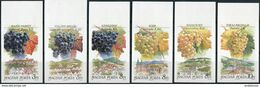 Hungary 1990. Michel #4101/06-B MNH/Luxe. Plants. Fruits. Local Grapes. (Ts48) - Fruits