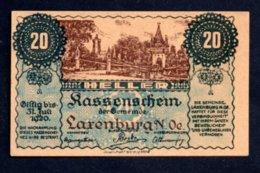 Banconota Austria  20 Heller 1920 - Austria