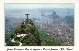 Le Corcovado (statue Du Christ Rédempteur), à Rio De Janeiro, Brésil, Carte Neuve Non Circulée - Monuments