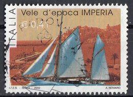 "Italia 2002 Uf. 2686 ""Raduno Vele D'epoca. Imperia, Porto Maurizio"" - Viaggiato Used - 2001-10: Usati"