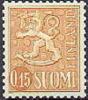 Finland 1963 0.15 Leeuwentype Geel  Type I PF-MNH-NEUF - Finnland