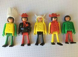 Playmobil - 10 Personnages 9 Cm + Accessoires - Playmobil