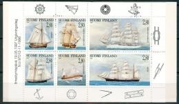 Finland 1997 Postzegelboekje Zeilschepen PF-MNH - Finnland