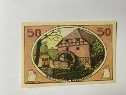 Allemagne Notgeld Neustadt 50 Pfennig - [ 3] 1918-1933 : Weimar Republic
