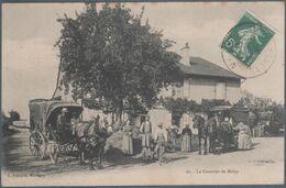 Le Courrier De Melay , Animée - Francia