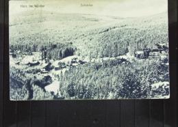 DR:  AK  Vom Harz Im Winter Mit Sicht Auf Schierke Von 1924 - Schierke