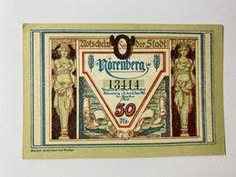 Allemagne Notgeld Norenberg 50 Pfennig - [ 3] 1918-1933 : Weimar Republic