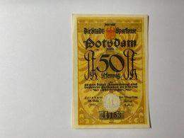 Allemagne Notgeld Potsdam 50 Pfennig - [ 3] 1918-1933 : Weimar Republic