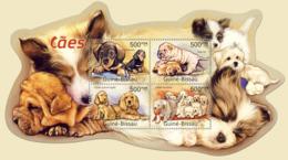 Guinea 2011 MNH - Dogs. Y&T 4017-4020, Mi 5574-5577 - Guinea-Bissau