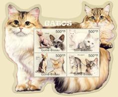 Guinea 2011 MNH - Cats. Y&T 4037-4040, Mi 5570-5573 - Guinea-Bissau
