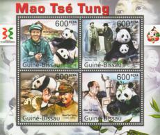 Guinea 2011 MNH - Mao & Panda, Wuxi Expo. Y&T 4094-4097, Mi 5627-5630 - Guinée-Bissau