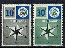 A100.047 // Niederlande 1957 // Mi. 704/705 ** // Europa - 1957