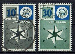 A100.048 // Niederlande 1957 // Mi. 704/705 O // Europa - 1957