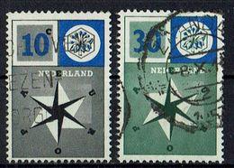 A100.049 // Niederlande 1957 // Mi. 704/705 O // Europa - 1957