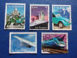 France Concorde Mobylette Sacré Coeur Le France La 2CV Le TGV - France