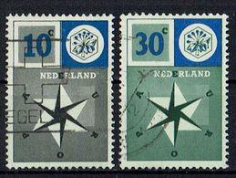 A100.050 // Niederlande 1957 // Mi. 704/705 O // Europa - 1957