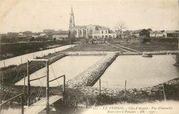 33 LE VERDON. Réservoirs à Poissons 1915 - Frankreich