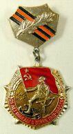 URSS CCCP MEDAGLIA MILITARE RUSSA DELL'ESERCITO SOVIETICO RUSSIA  MILITARY RUSSIAN MEDAL UNIFORM MILITAIRE KGB LENIN KL - Rusland