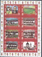 3457 ✅ Sport Italian Football Soccer Clubs UEFA 1999 Somalia Sheet MNH ** - Beroemde Teams