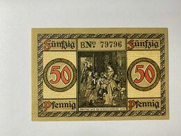 Allemagne Notgeld Wetzlar 50 Pfennig - [ 3] 1918-1933 : Weimar Republic